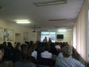 Mukoviszidose - Workshop mit dem Stuttgarter Oberarzt Dr. Illing an der Kinderklinik Nr. 1, Samara