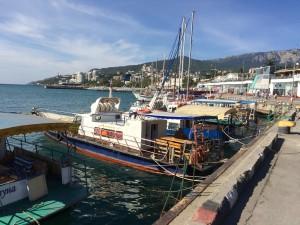 Jalta Hafen