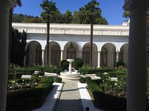 Das Schloss des Zaren: Ort der Jalta - Konferenz