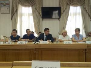 Gespräch mit Jaltas Bürgermeister