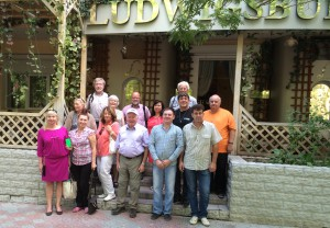 Auf der Krim in der Ludwigburger Partnerstadt